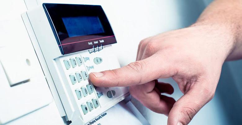 image montrant un clavier d'alarme, accessoire au prix système d'alarme