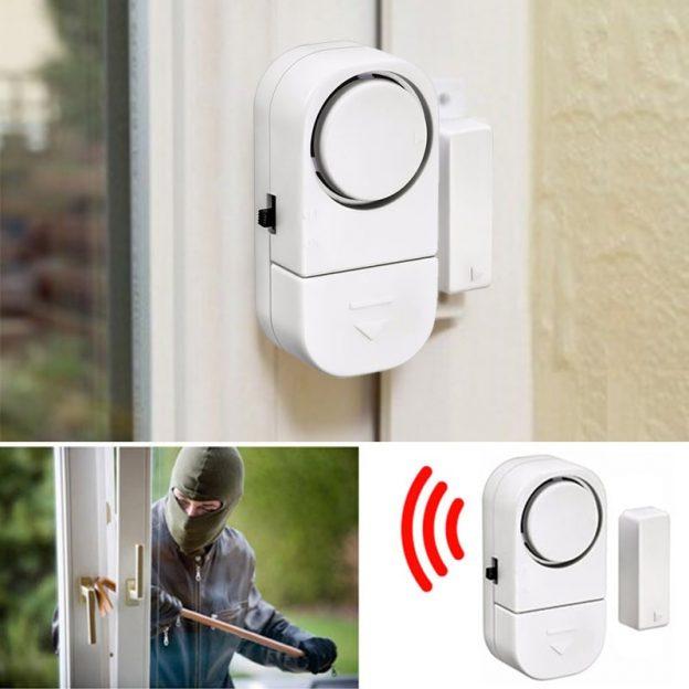 Alarme de porte dissuasive, connectée ou reliée à une télésurveillance?