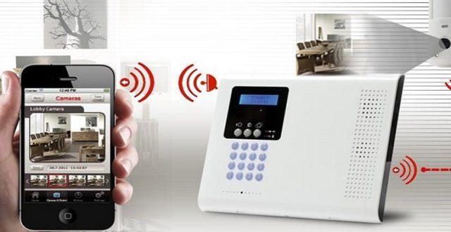 alarme anti intrusion contrôlée à distance